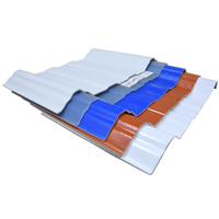 Soundproof And Thermal Insulated 9mm PVC Hollow Corrugated Roofing Panel Materials